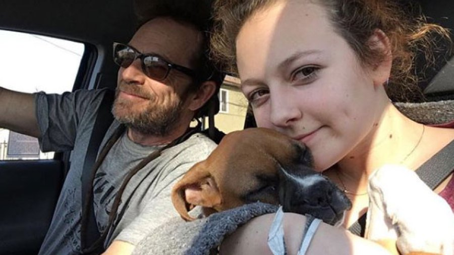 Luke Perry's Daughter Sophie Says She Is Missing Him 'a Little Extra Today'