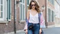 Model in Jeans