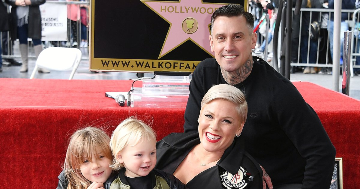 Pink, Carey Hart Have 'Family Dinner' With Their Kids on Tour
