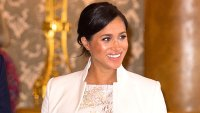 Almost a Mom! Pregnant Duchess Meghan Says She's 'Nearly There'