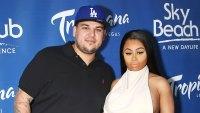 Rob Kardashian Blac Chyna Working Hard Better Relationship Coparenting Dream