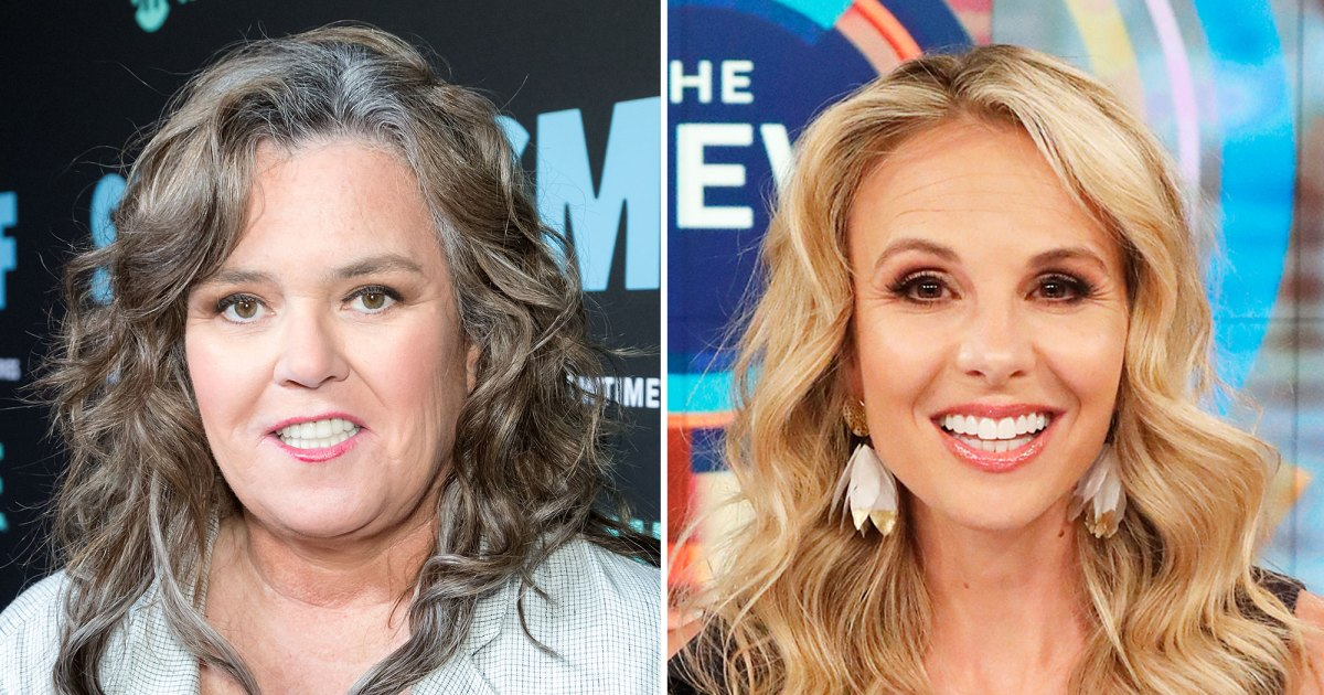 Rosie O'Donnell Is 'Sorry' Elisabeth Hasselbeck 'Got Scared' By Crush Confession