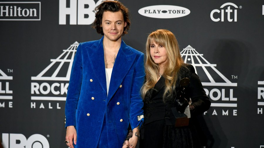 Stevie Nicks Mistakenly Thought Harry Styles Was in 'NSync