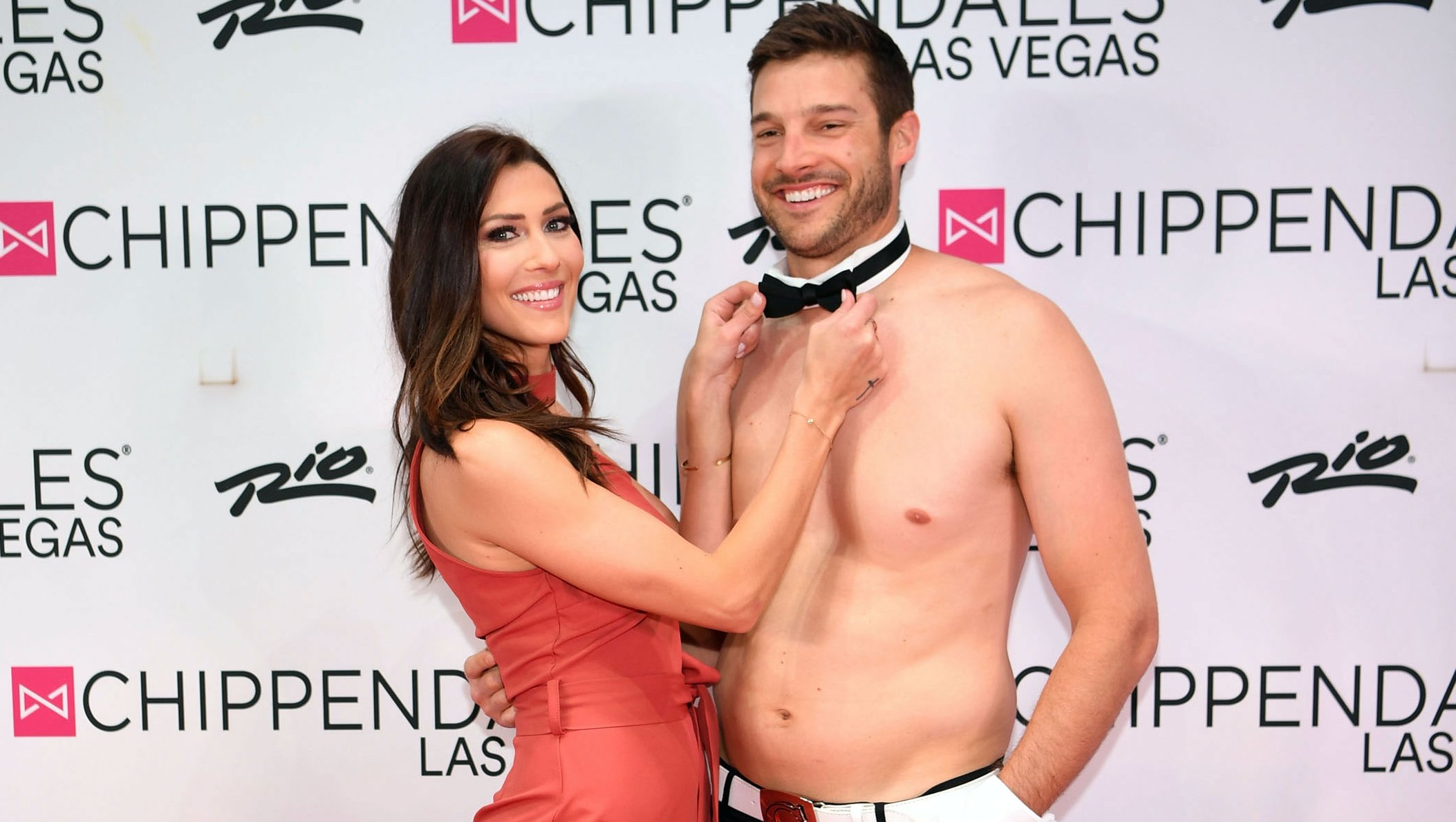 The Bachelorette's Becca Kufrin Gets a Chippendale's Lapdance From Garrett Yrigoyen