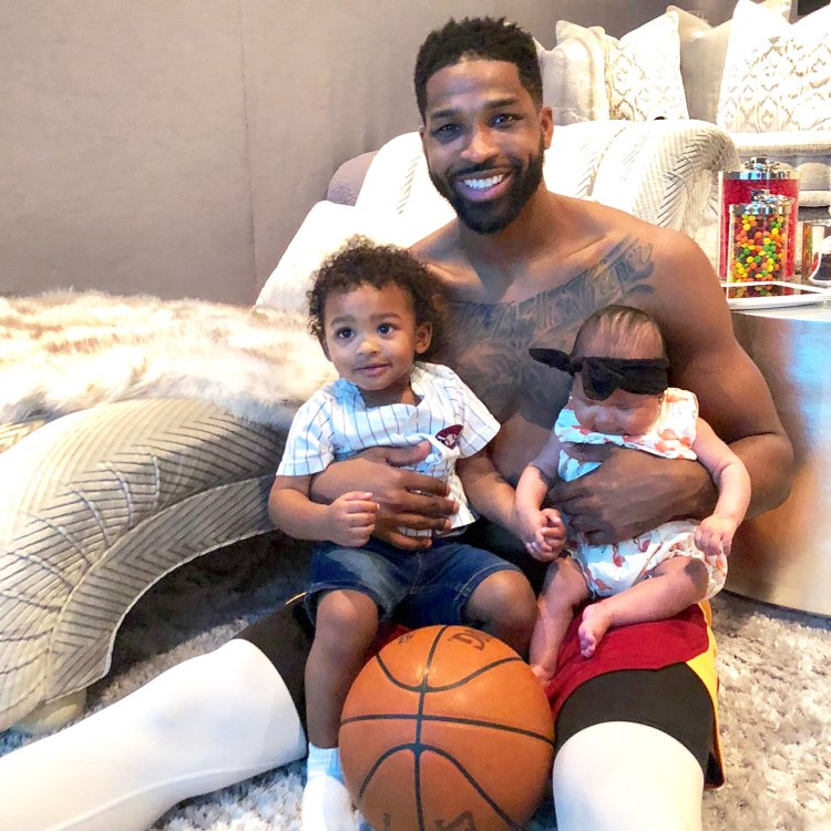 Tristan Thompson Wears Shoes in Honor of Children True and ...