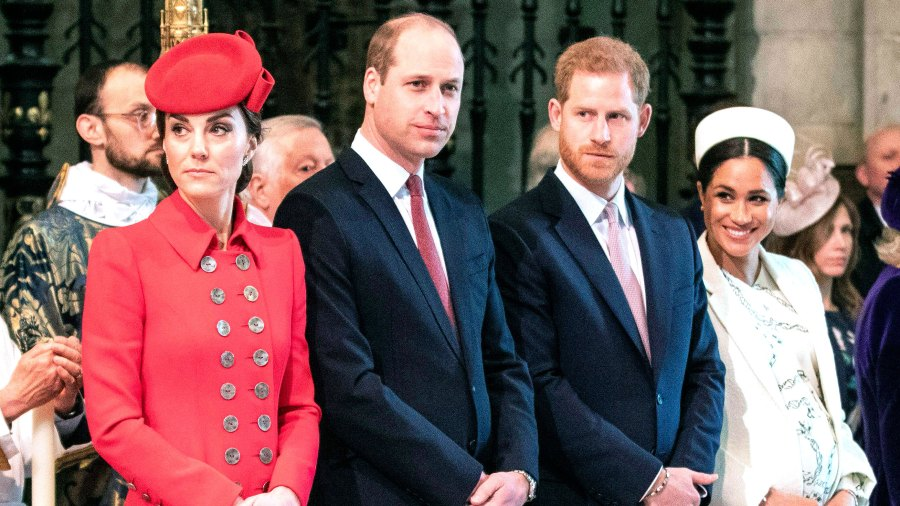 Prince William and Prince Harry 'Had a Rift,' Not Duchess Kate and Duchess Meghan, Royal Filmmaker Says
