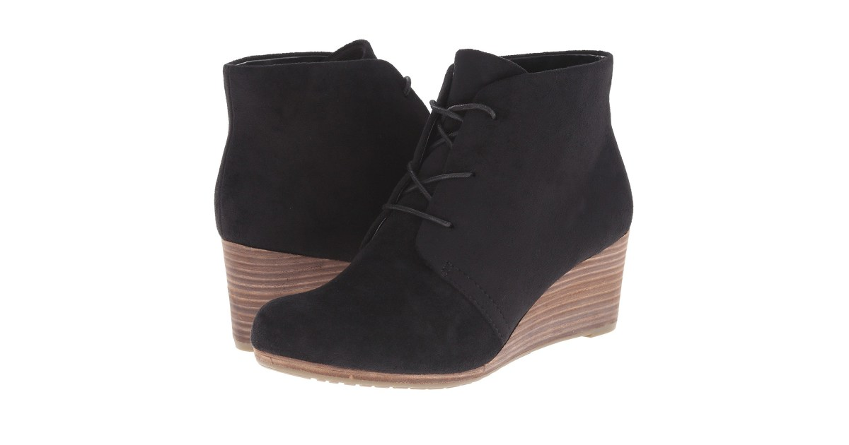 c82ce19605af These Comfortable and Stylies Wedge Booties Are Dr. Scholl s