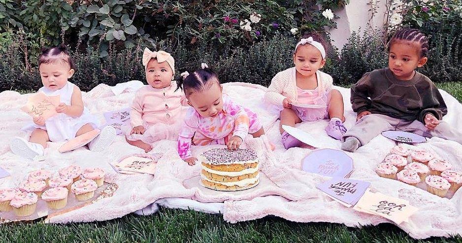 Kim, Khloe Kardashian, Kylie Jenner's Kids Pose for 'Squad' Pic