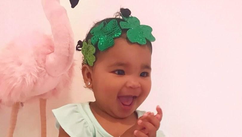 khloe kardashian ST PATTYS DAY BABIES