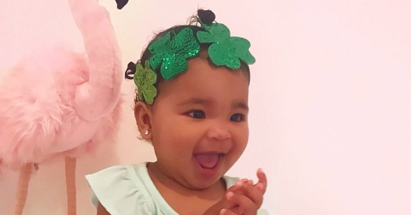 Stormi Webster, True Thompson and More Celeb Babies Rocking Green on St. Patrick's Day