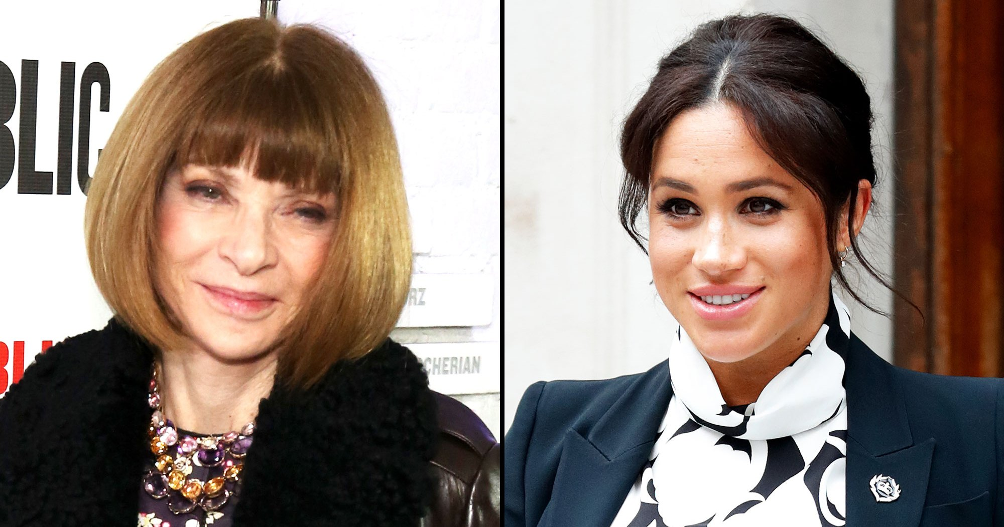 What Anna Wintour Really Thinks of Duchess Meghan's Pregnancy Style