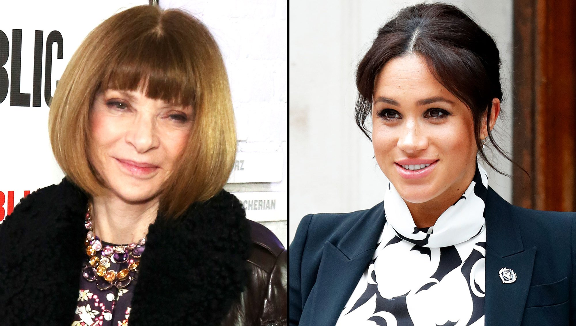 anna wintour meghan markle Duchess of Sussex Pregnancy Style