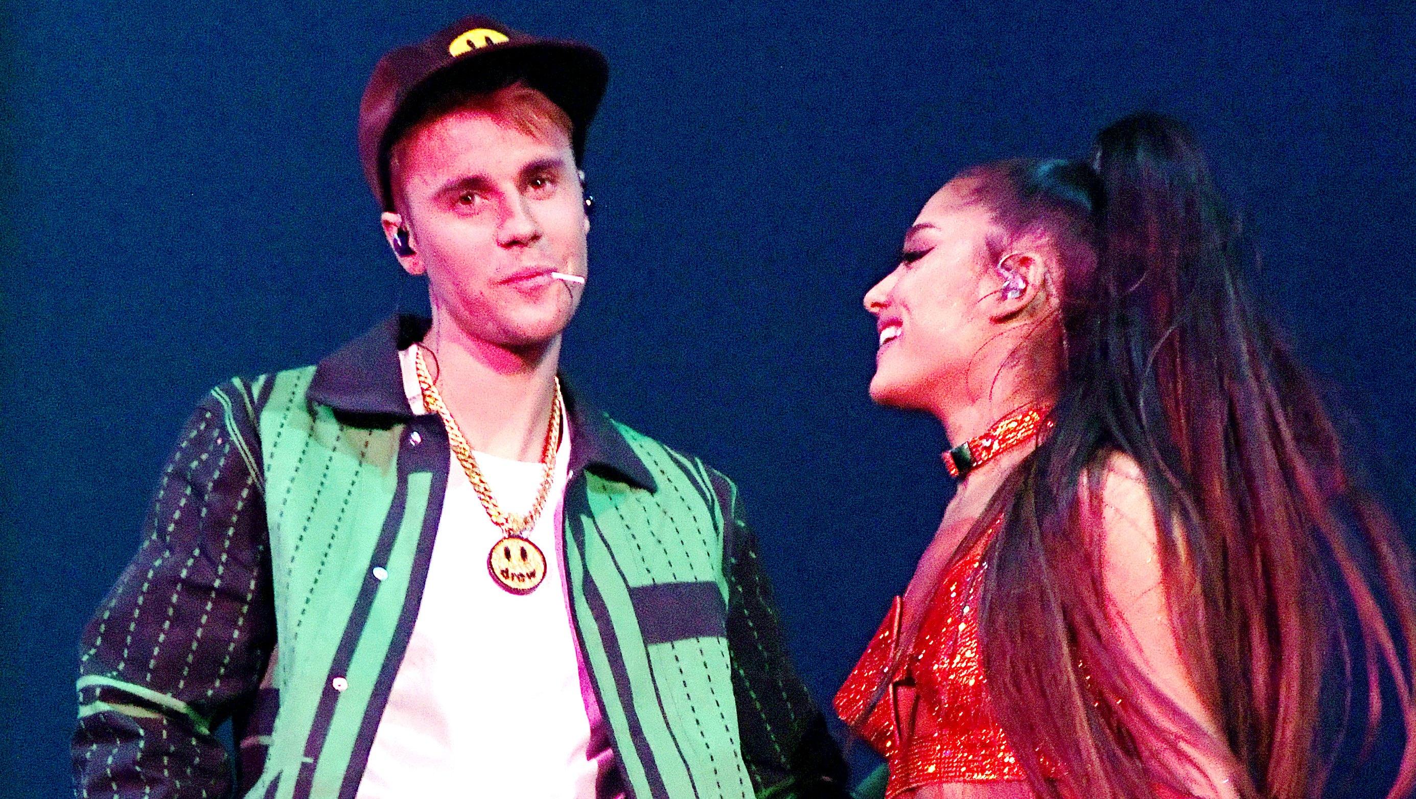 Ariana Grande Defends Justin Bieber Coachella