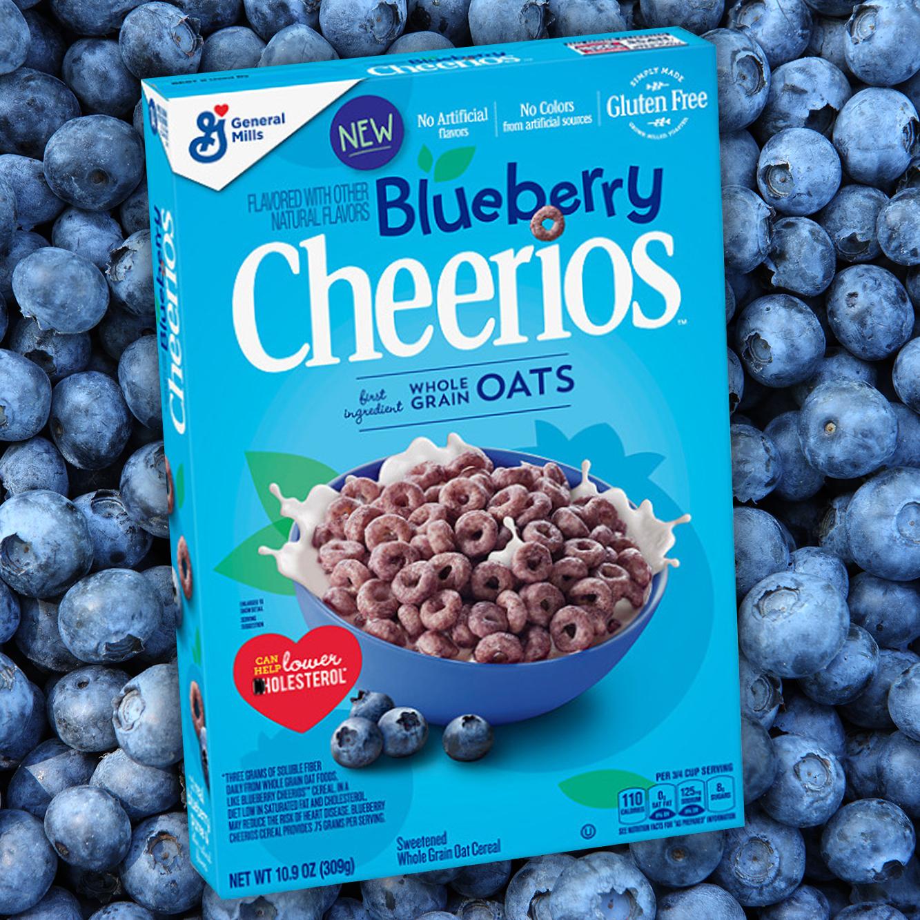 Blueberry Cheerios Release
