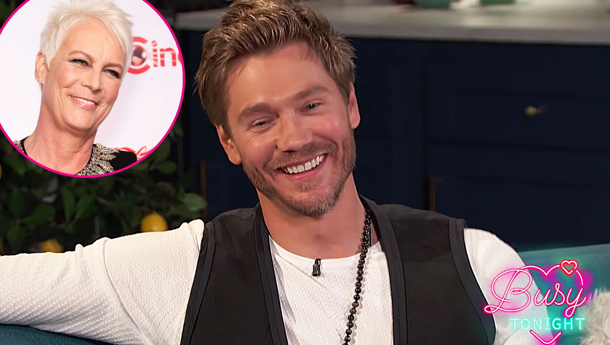 Jamie Lee Curtis and Chad Michael Murray made out freaky friday movie lindsay lohan