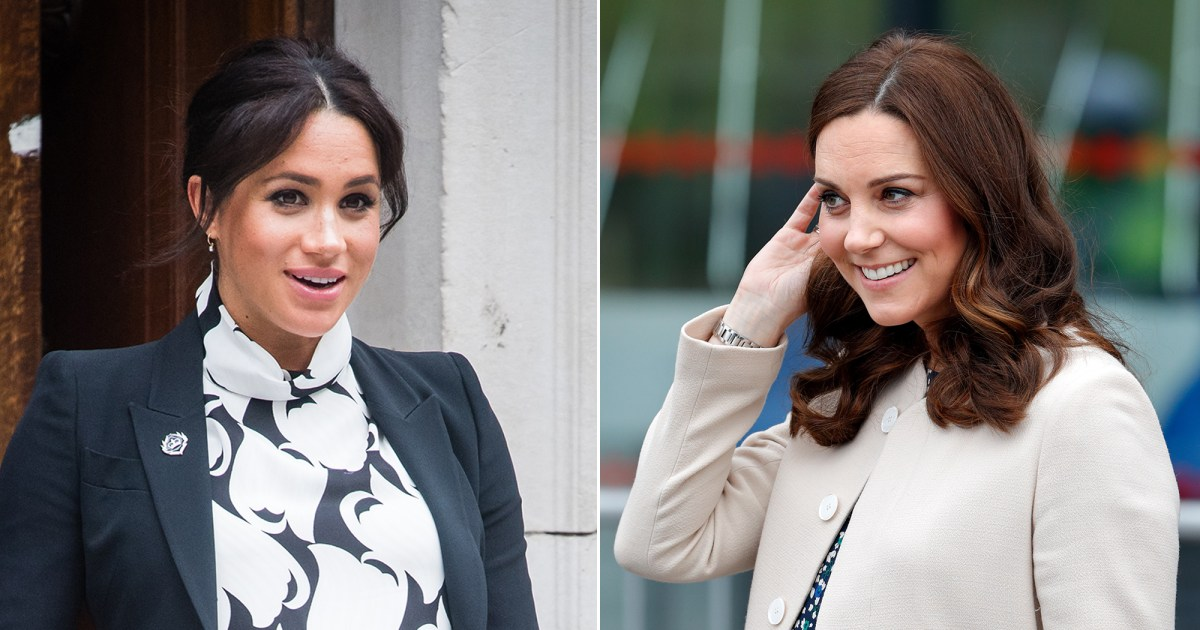 695c460c6b11f How Duchess Meghan's Pregnancy Differed From Duchess Kate's