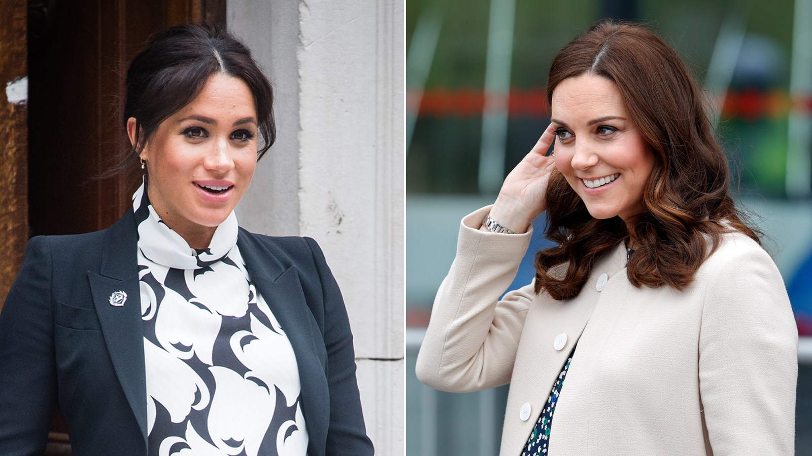 72121b4112345 How Duchess Meghan's Pregnancy Differed From Duchess Kate's