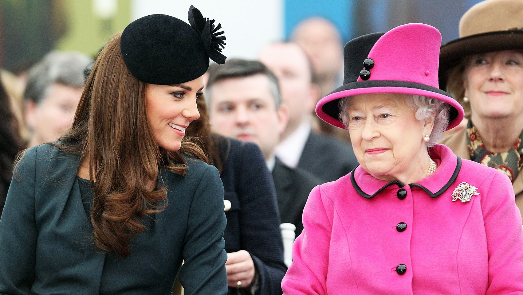 Duchess Kate Queen Elizabeth Special Bond