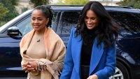 Duchess Meghan Mom Doria London Awaiting Royal Baby Arrival