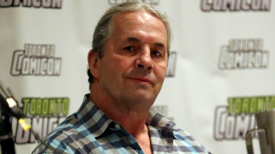 Wrestler Bret Hart Tackled By Fan Onstage at WWE Hall of Fame Ceremony