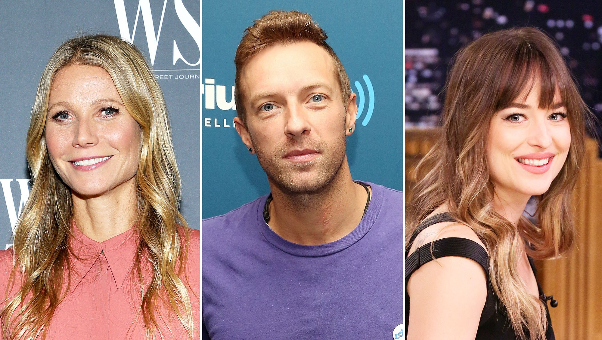 Gwyneth Paltrow Chris Martin Girlfriend Dakota Johnson Bond Instagram