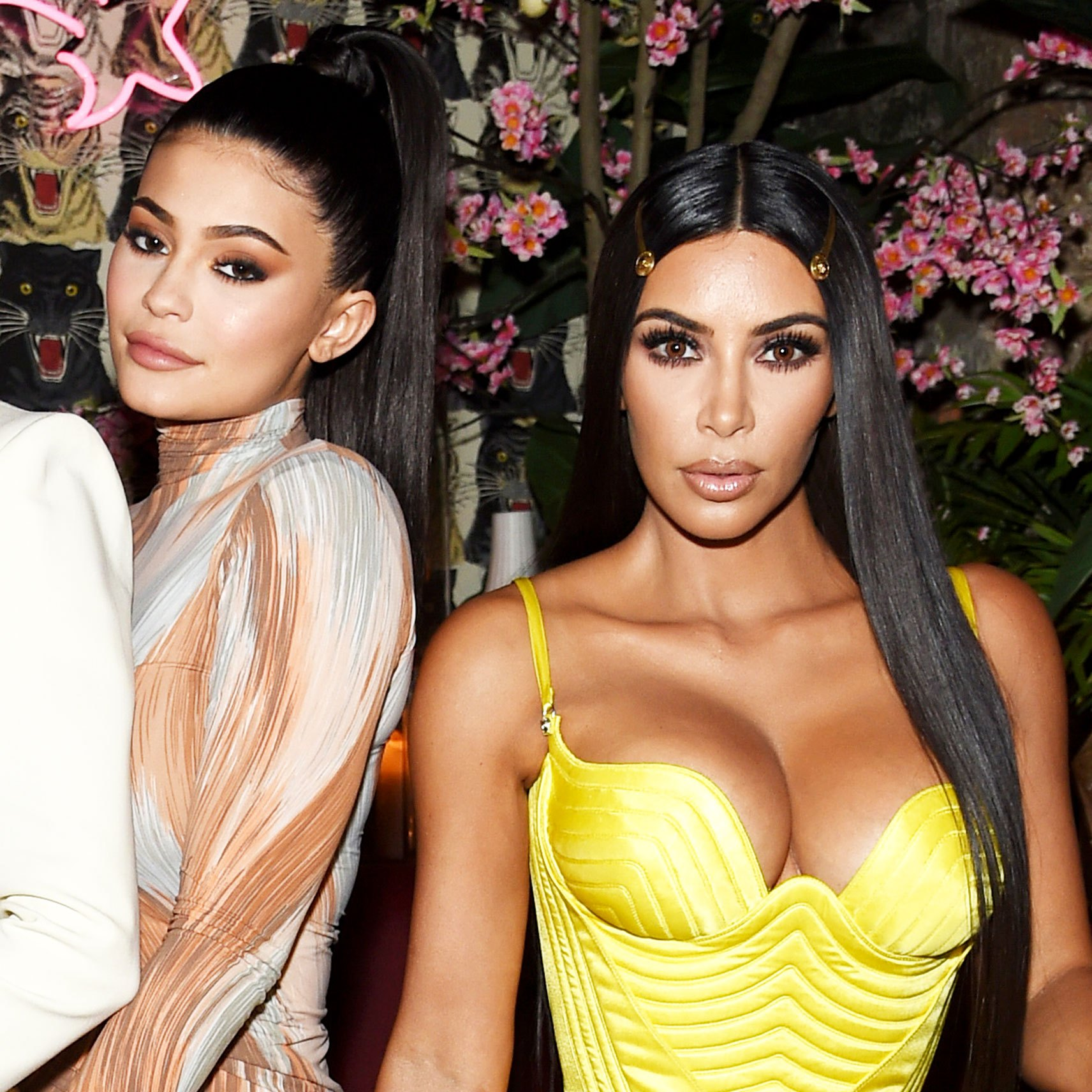 Kim Kardashian and Kylie Jenner KKW Fragrance Launc