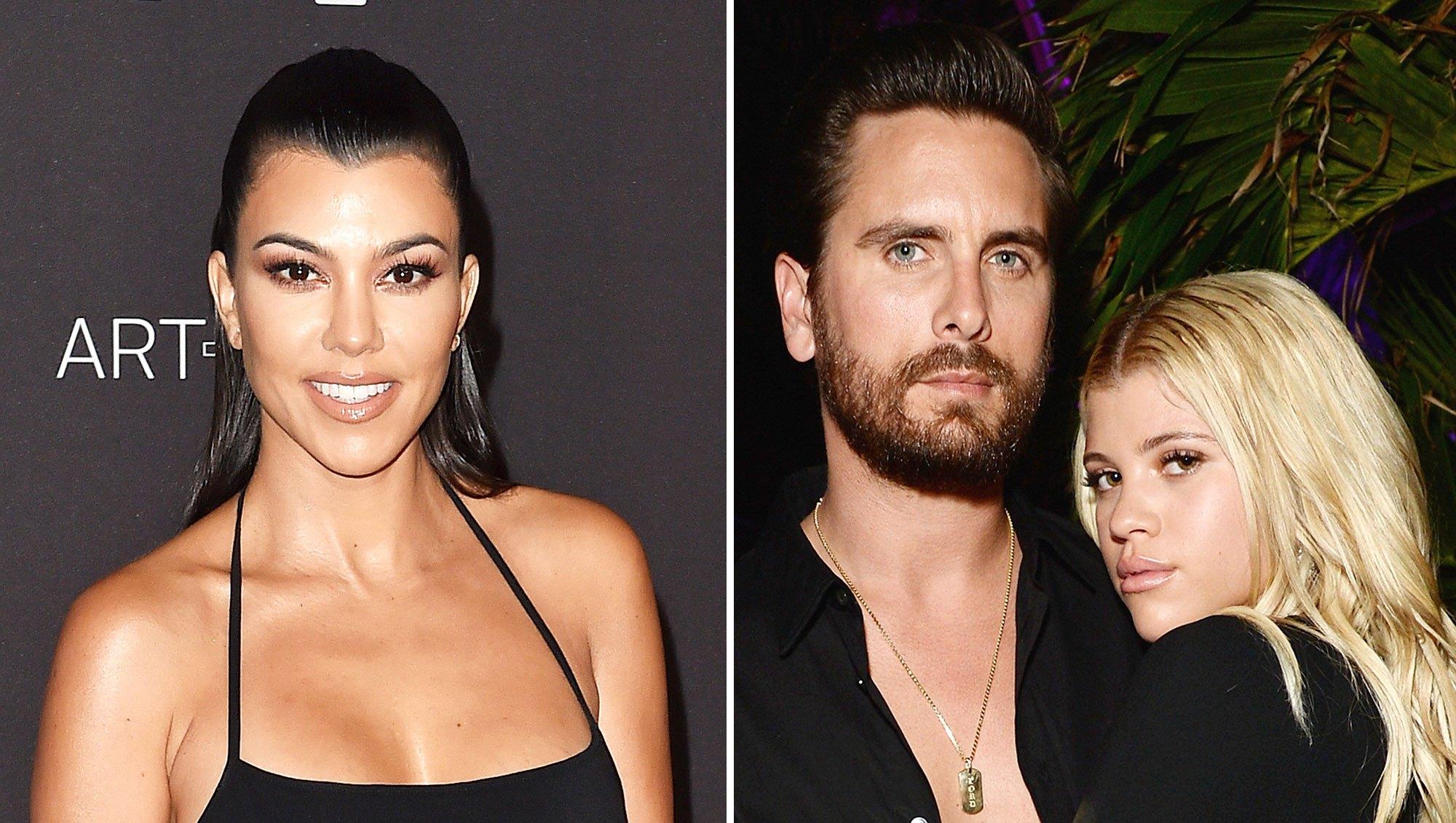 Kourtney Kardashian Birthday Trip Scott Disick Sofia Richie