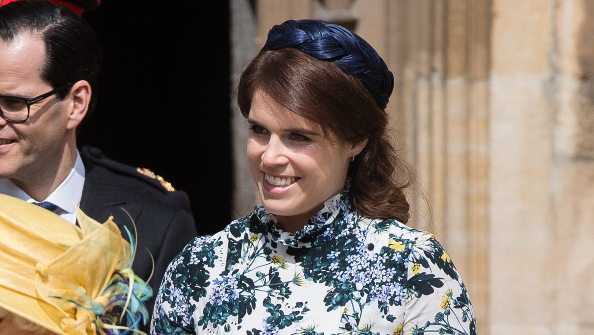 Princess Eugenie Returns to Scene of Her Wedding