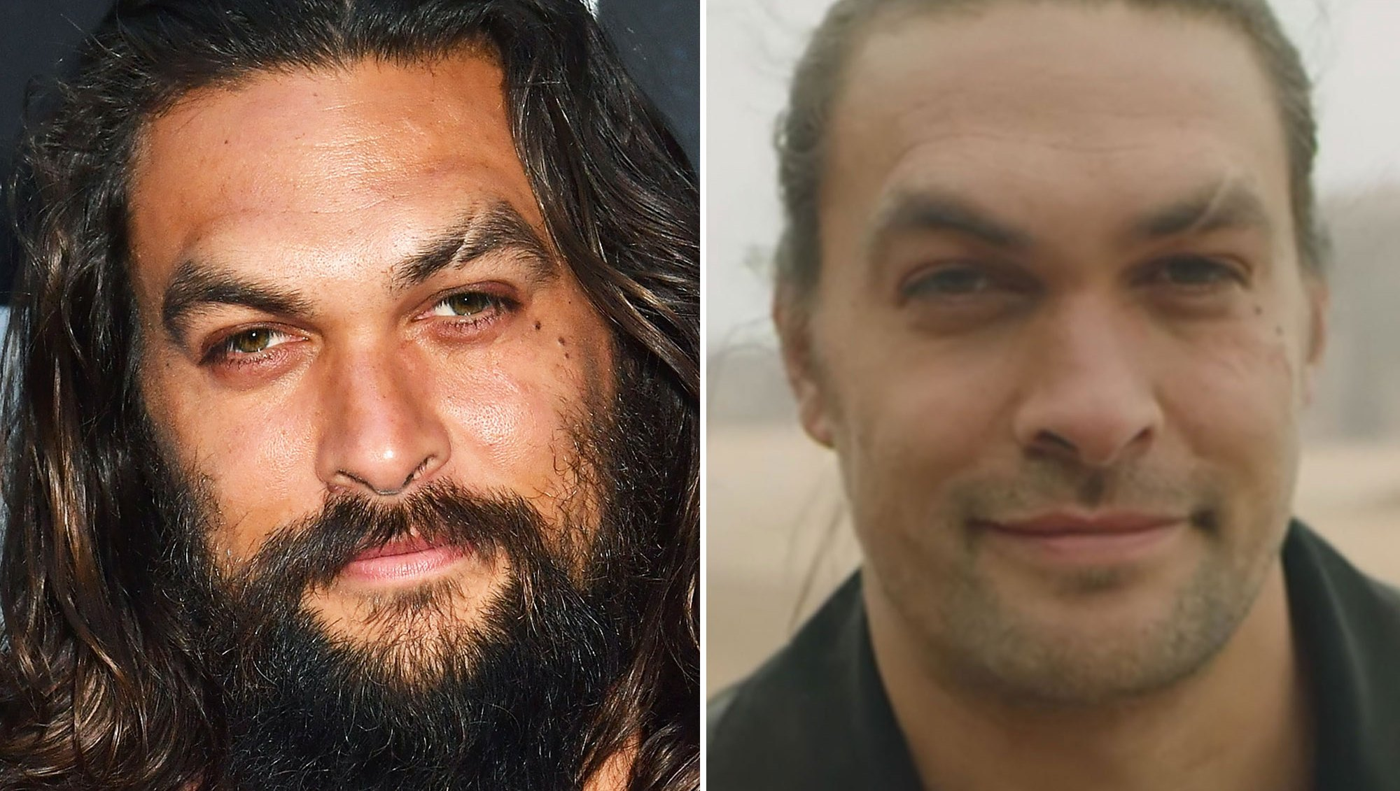 Jason Momoa Shaved Off His Beard