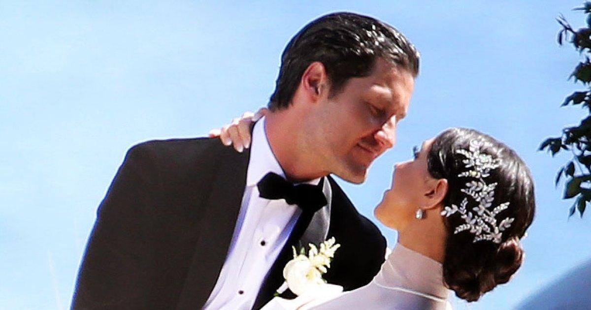 Val Chmerkovskiy Jenna Johnson Marry Wedding Details Photos