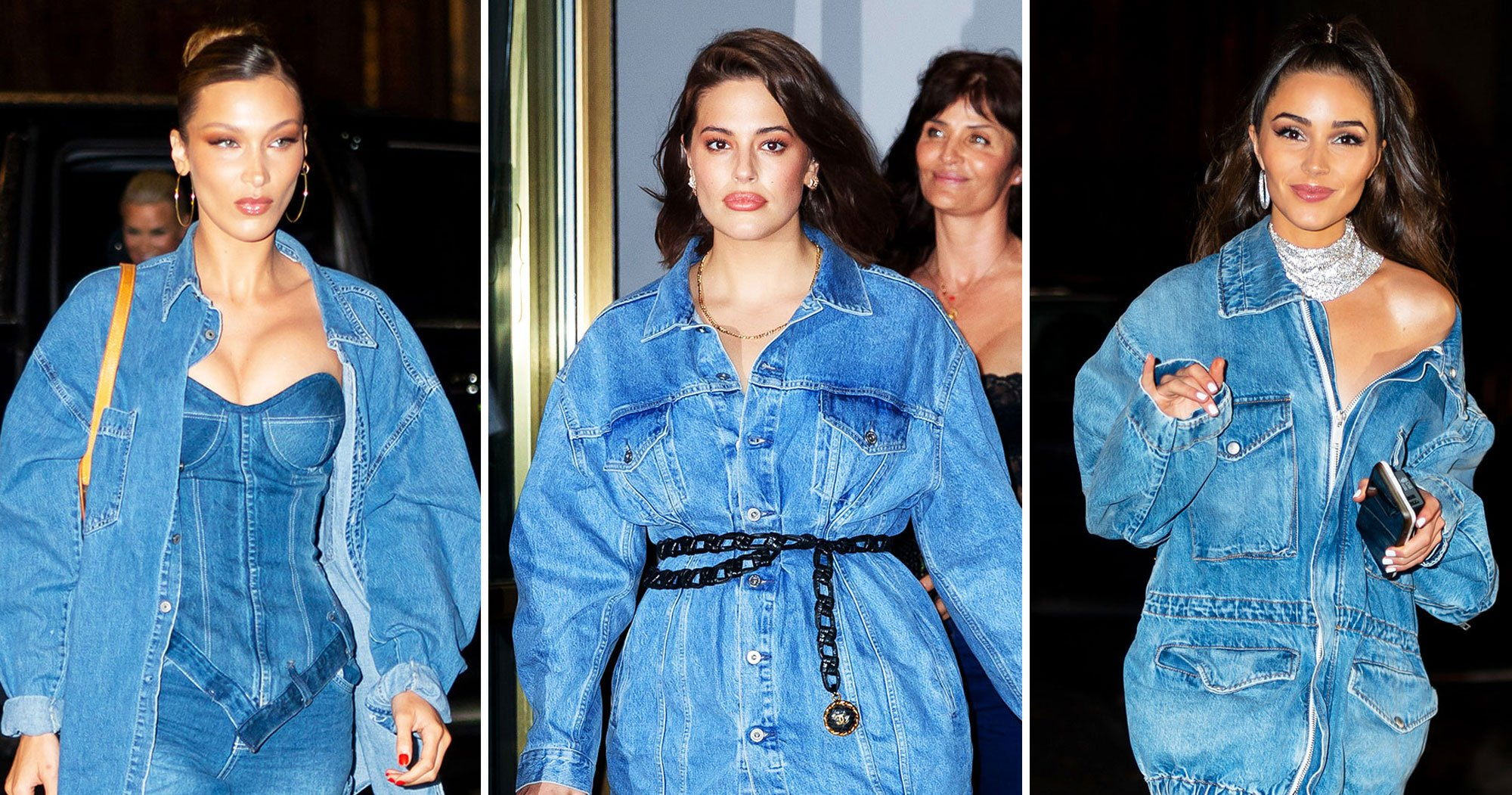 Gigi Hadid's Famous Friends and Family Celebrated Her Birthday in Denim— See Our Favorite Jean Looks