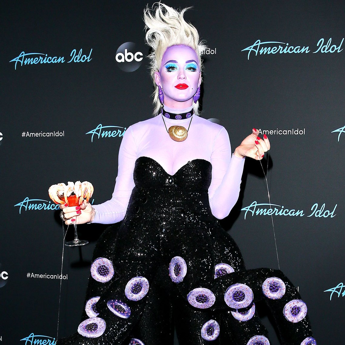 Why Katy Perry Dressed Up as Ursula Instead of the Little Mermaid for Disney Night