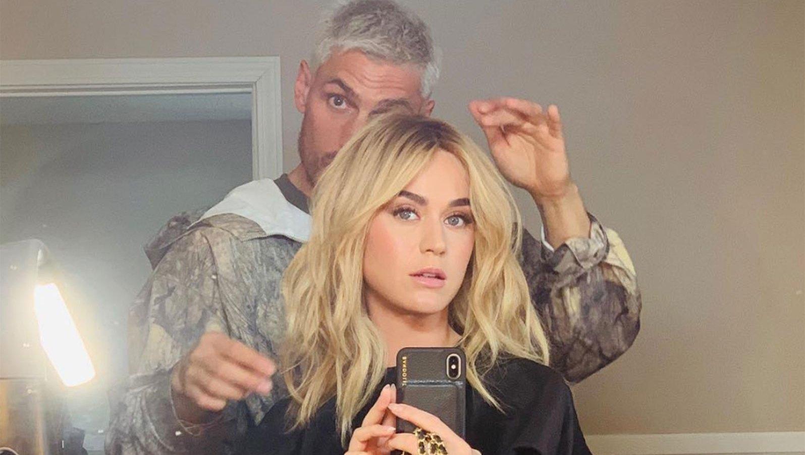 Katy Perry wig blonde hair