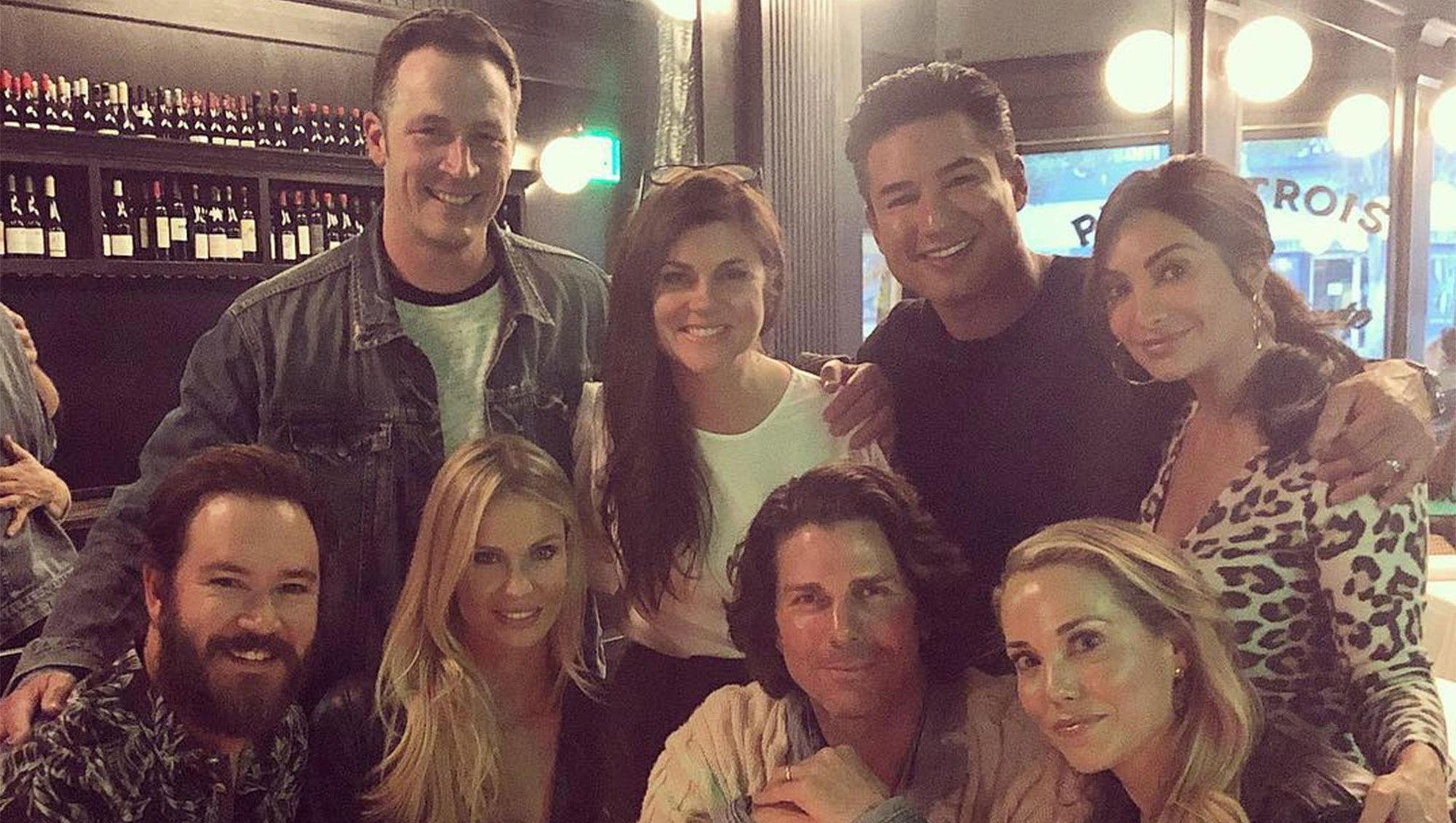 Saved by the Bell Costars Reunited Mark-Paul Gosselaar (Zach Morris), Mario Lopez (A.C. Slater), Tiffani Thiessen (Kelly Kapowski) and Elizabeth Berkley (Jessie Spano)
