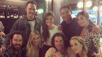 Saved by the Bell Costars Reunited Mark-Paul Gosselaar (Zach Morris), Mario Lopez (A.C. Slater), Tiffani Thiessen (Kelly Kapowski) and Elizabeth Berkley (Jessie Spano)