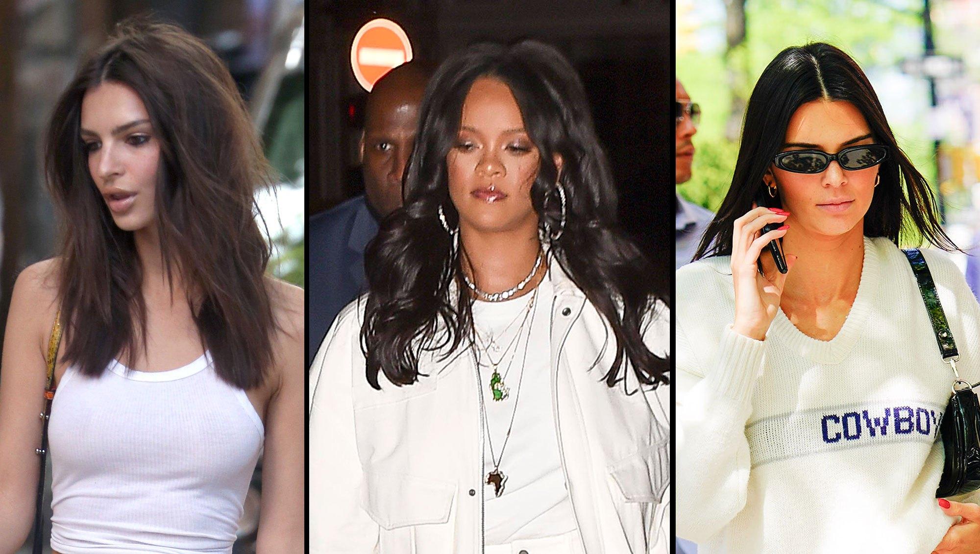 Emily Ratajkowski Rihanna Kendall Jenner Memorial Day White