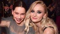 Game of Thrones' Sophie Turner Blames Emilia Clarke for Starbucks Cup Fail
