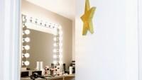 Open door of star's dressing room
