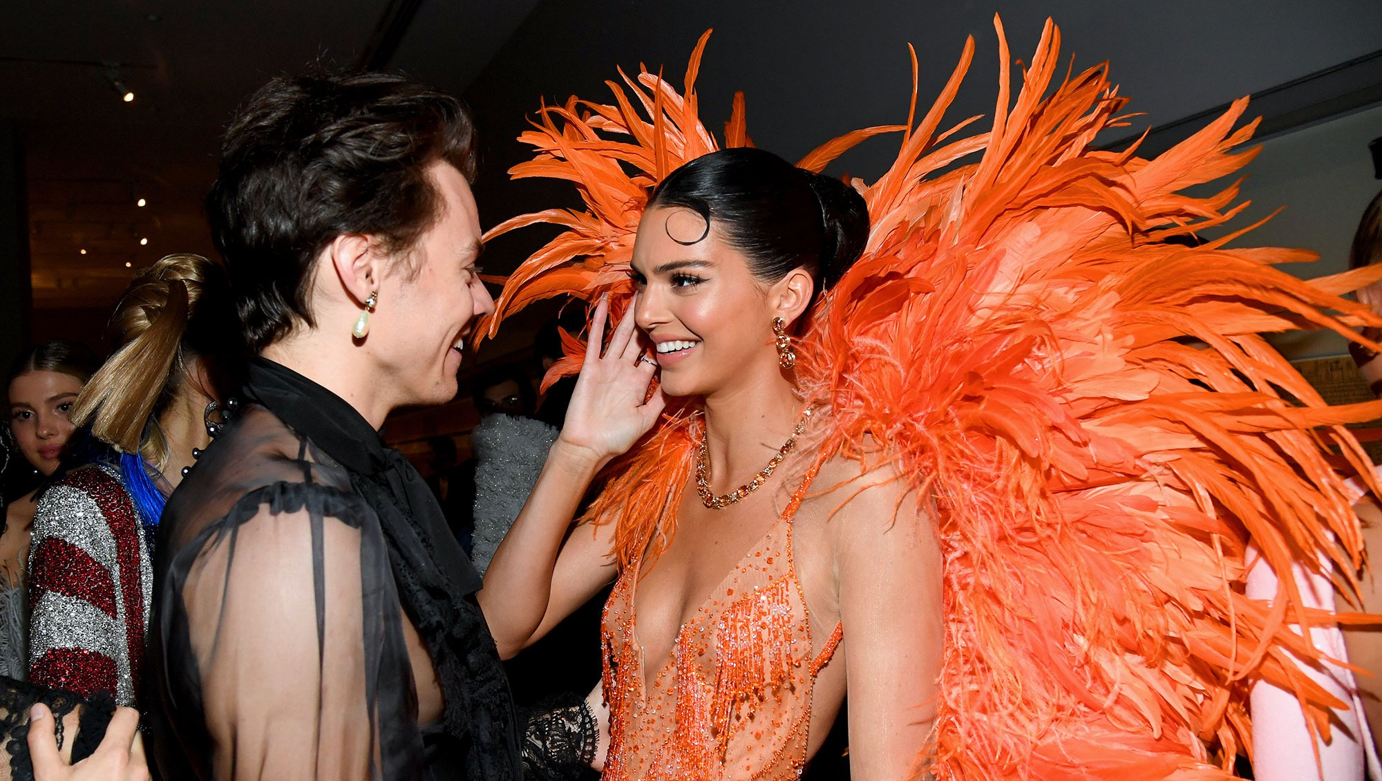 Harry Styles and Kendall Jenner Exclusive 2019 Met Gala