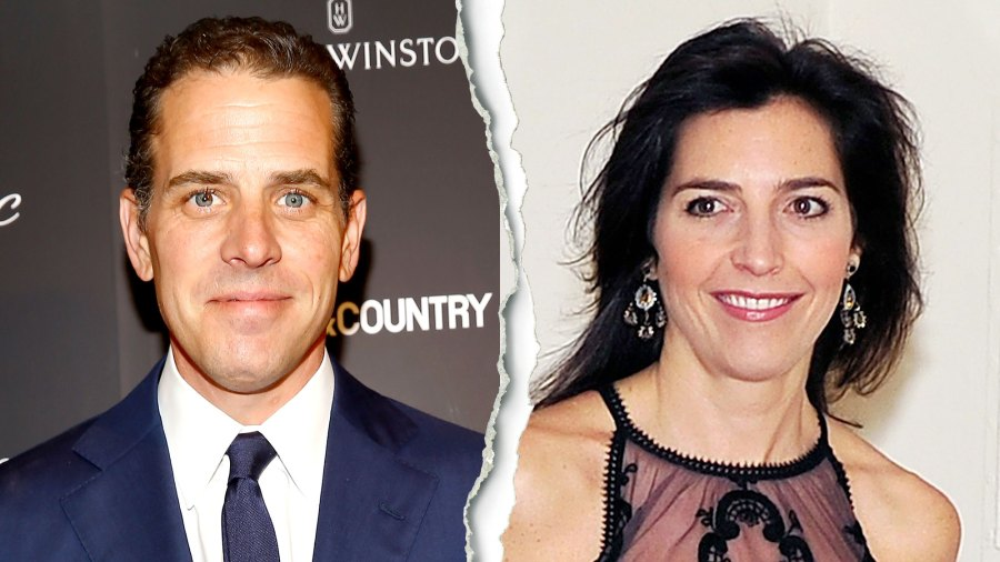 Hunter Biden Hallie Biden Split