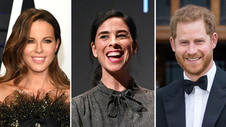 Kate Beckinsale and Sarah Silverman and Prince Harry Banter, Date