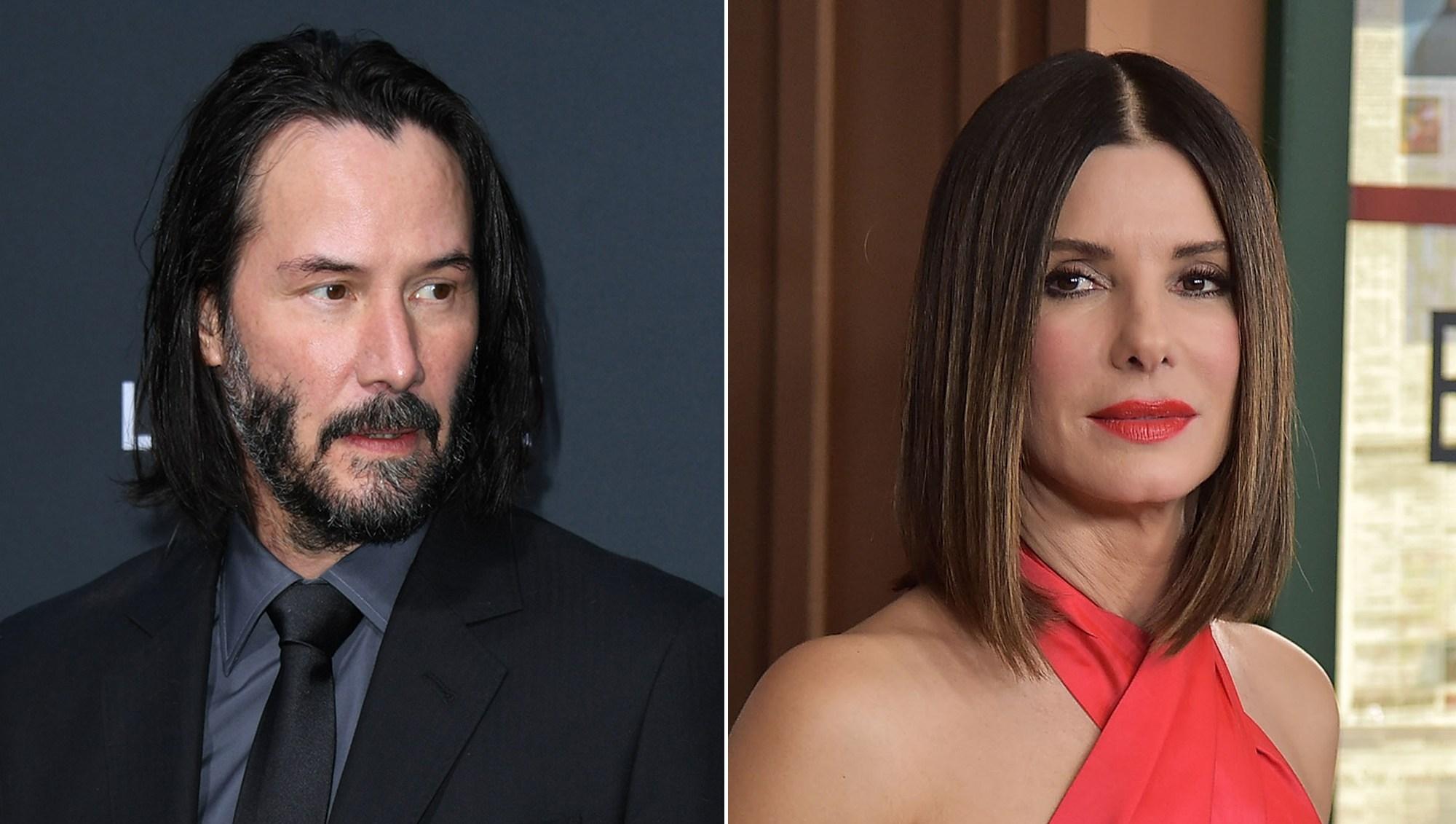 Keanu Reeves Had a Crush on 'Speed' Costar Sandra Bullock