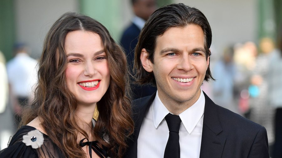 Keira Knightley and James Righton Weclome Baby
