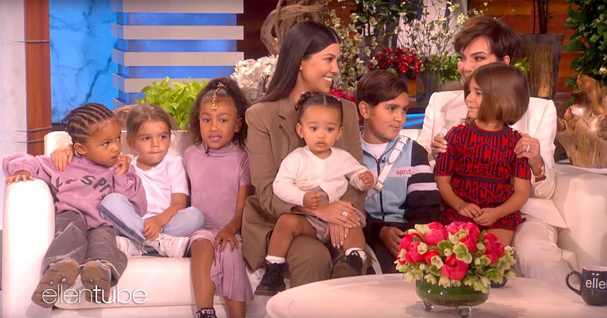 Kourtney Kardashian's Son Steals Show on 'Ellen' Appearance