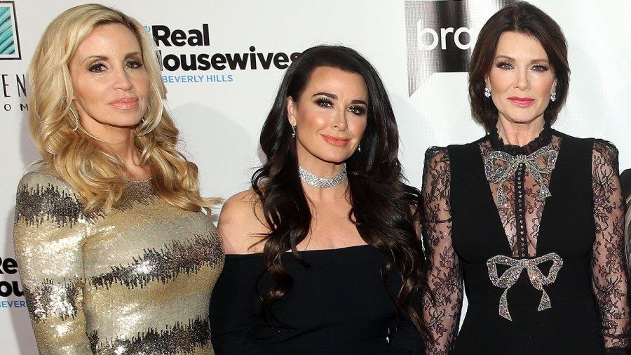 Kyle Richards, Lisa Vanderpump Respond to Camille Grammer's Tweets Real Housewives of Beverly Hills Drama