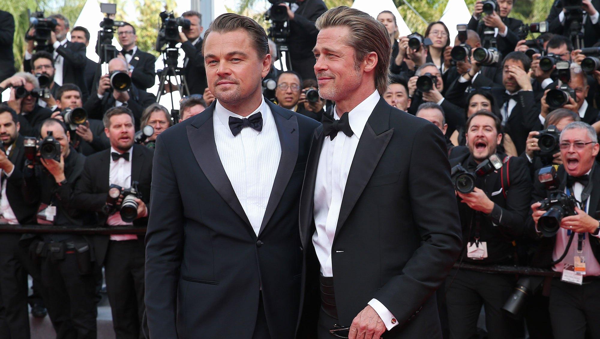 Leonardo DiCaprio and Brad Pitt Cannes Film Festival 2019 Most Stylish Guys Red Carpet
