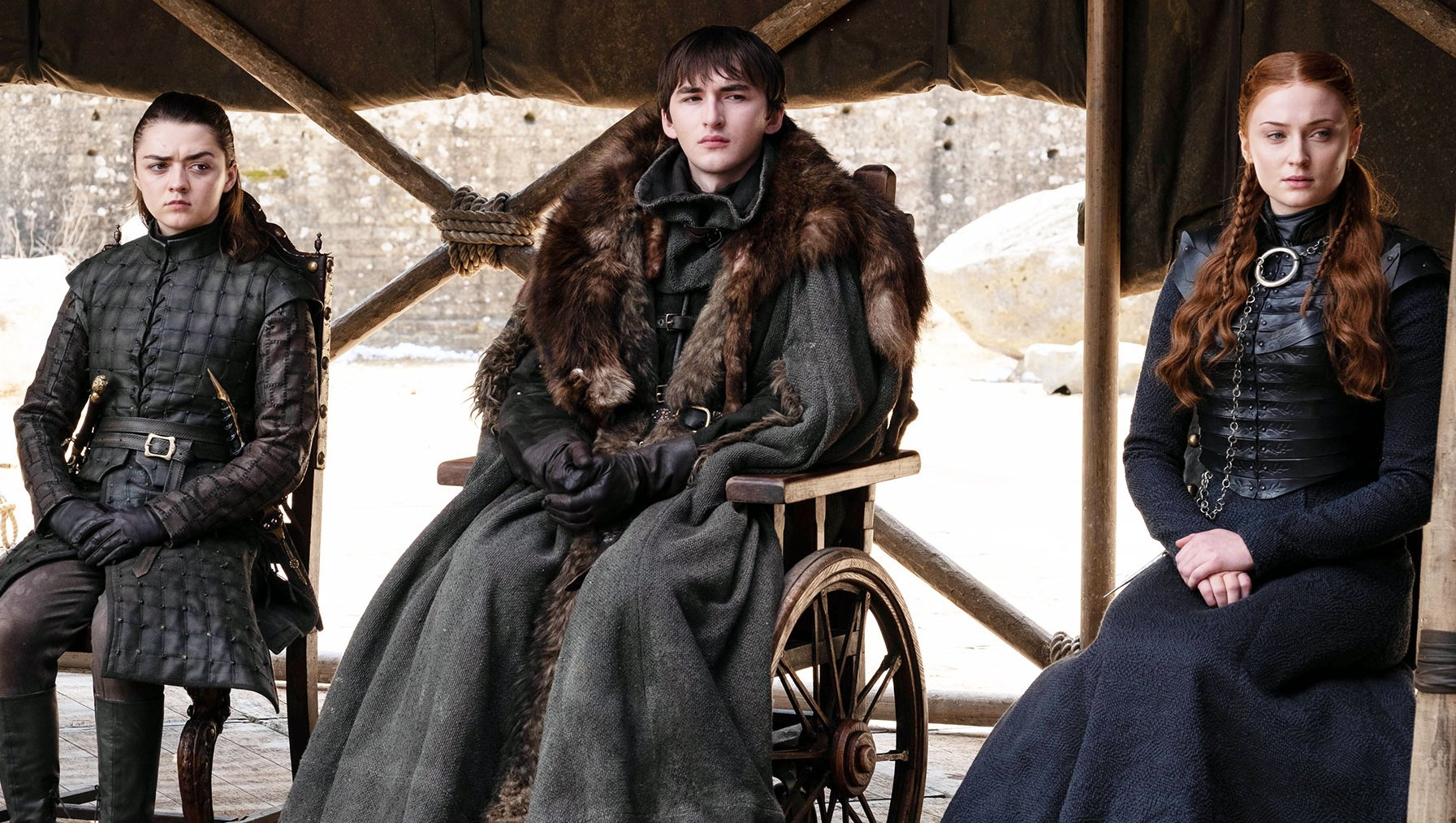 Maisie Williams Isaac Hempstead Wright Sophie Turner Game of Thrones Series Finale Worst Episode