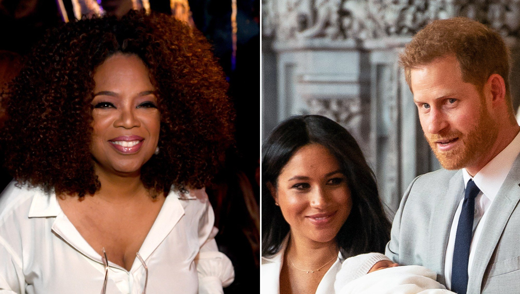 Oprah Winfrey Bought Present Prince Harry Duchess Meghan Royal Baby