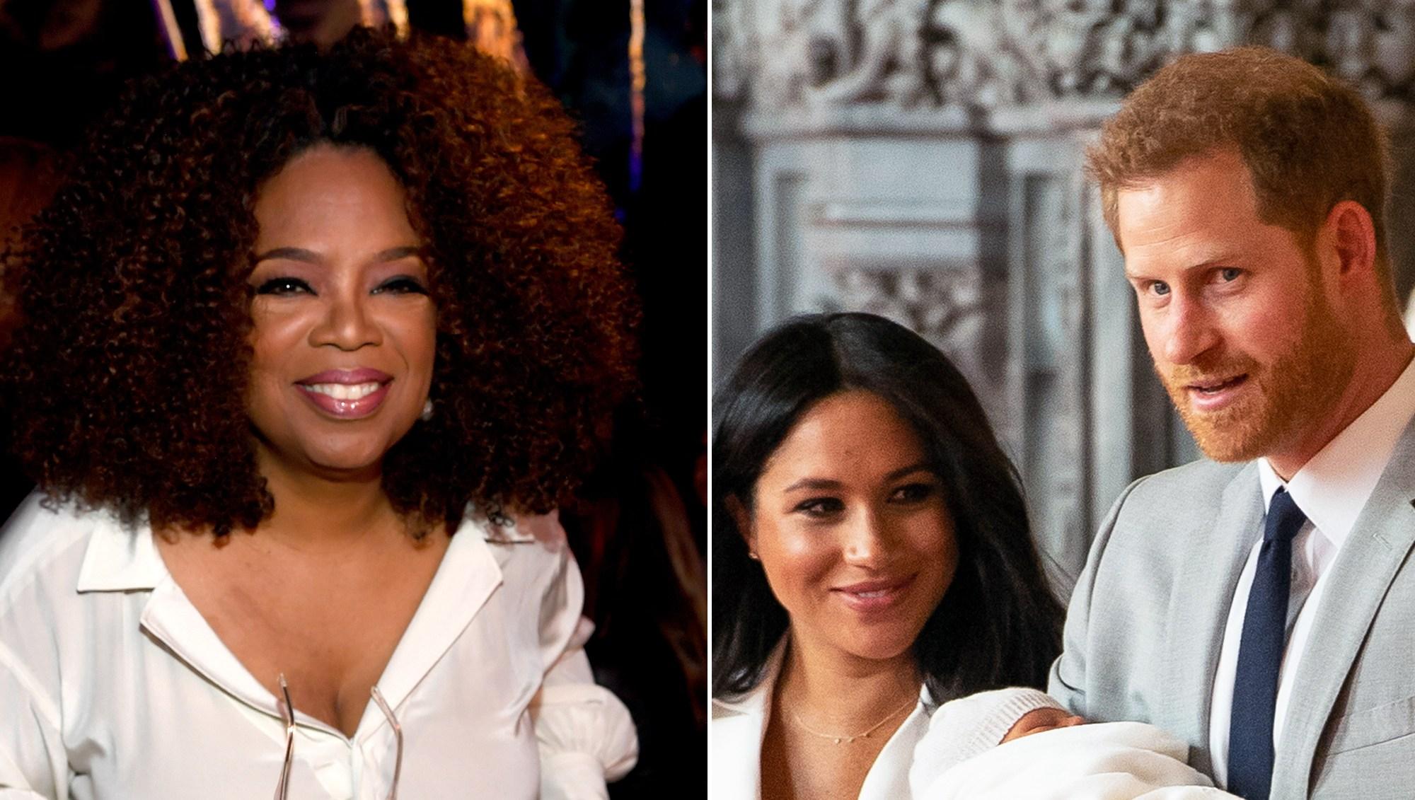 Oprah Winfrey Bought Present Prince Harry Duchess Meghan Royal Baby