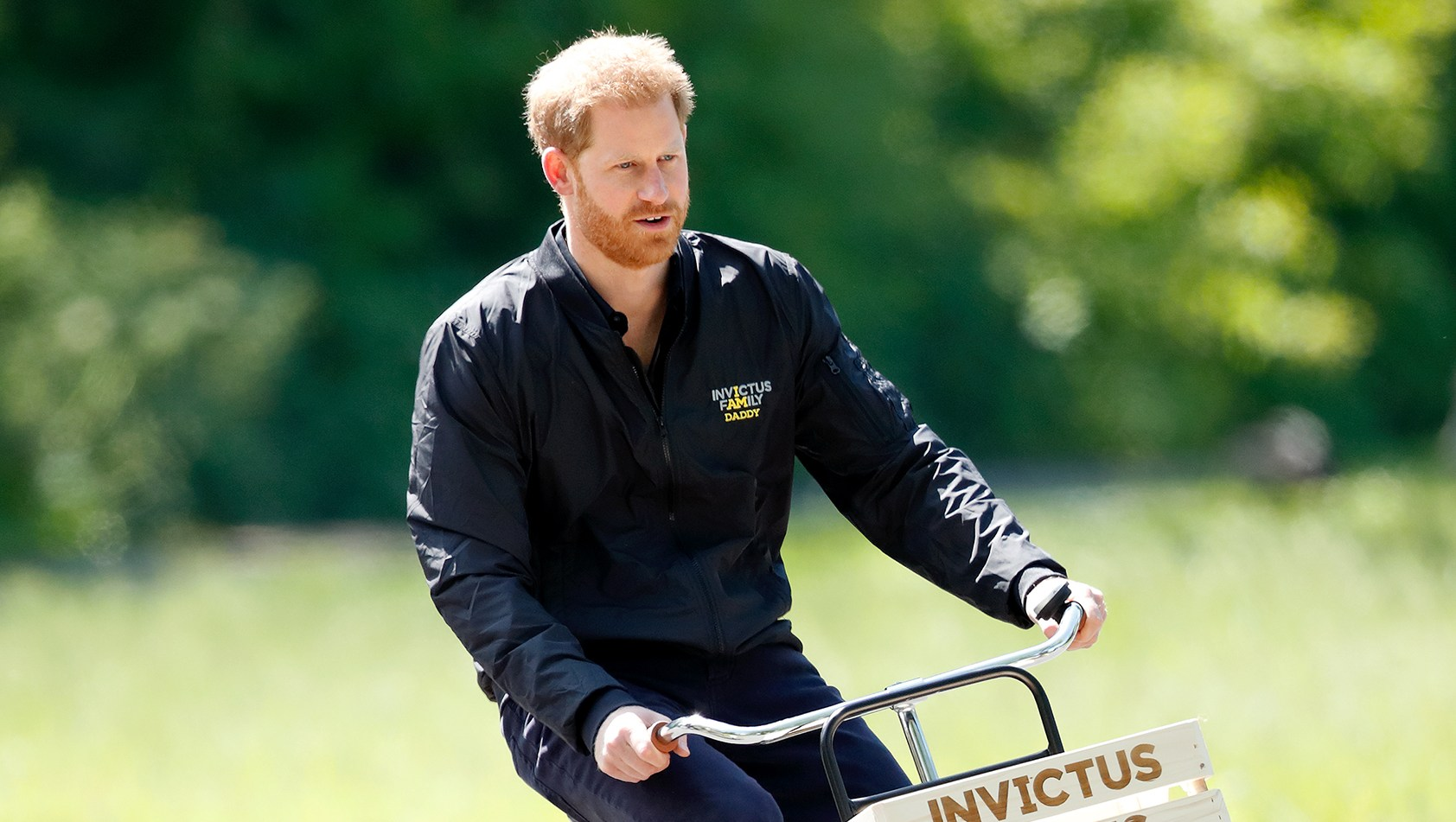 Prince Harry Bike